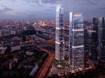 Общий вид ЖК Neva Towers